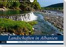 Landschaften in Albanien (Wandkalender 2022 DIN A4 quer)