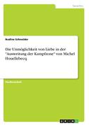 """Die Unmöglichkeit von Liebe in der """"Ausweitung der Kampfzone"""" von Michel Houellebecq"""