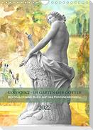 Sanssouci - Im Garten der Götter. Der andere Blick auf das Fontänenrondell (Wandkalender 2022 DIN A4 hoch)