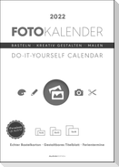 Foto-Bastelkalender weiß 2022 - Do it yourself calendar A4
