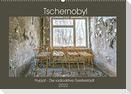 Tschernobyl - Prypjat - Die radioaktive GeisterstadtAT-Version  (Wandkalender 2022 DIN A2 quer)