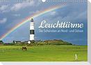 Leuchttürme: Die Schönsten an Nord- und Ostsee (Wandkalender 2022 DIN A3 quer)