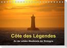 Côte des Légendes  An der wilden Westküste der Bretagne (Tischkalender 2022 DIN A5 quer)