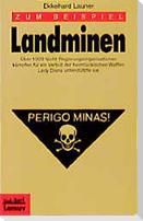 Zum Beispiel Landminen
