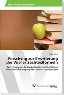 Forschung zur Erweiterung der Wiener Sachtextformeln