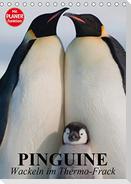 Pinguine. Wackeln im Thermo-Frack (Tischkalender 2021 DIN A5 hoch)