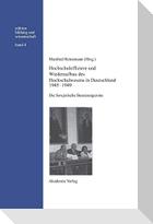 Hochschuloffiziere und Wiederaufbau des Hochschulwesen in Deutschland 1945-1949