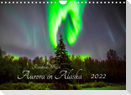 Aurora in Alaska (Wandkalender 2022 DIN A4 quer)