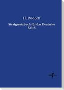 Strafgesetzbuch für das Deutsche Reich