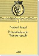 Richterleitbilder in der Weimarer Republik
