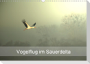 Vogelflug im Sauerdelta (Wandkalender 2021 DIN A3 quer)