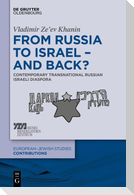 From Russia to Israel - And Back?