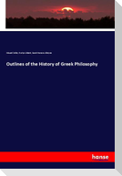 Outlines of the History of Greek Philosophy