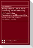 Zwangsarbeit im Dritten Reich: Erinnerung und Verantwortung