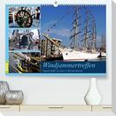 Windjammertreffen - Segelschiffe zu Gast in Bremerhaven (Premium, hochwertiger DIN A2 Wandkalender 2022, Kunstdruck in Hochglanz)