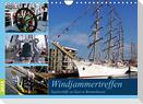 Windjammertreffen - Segelschiffe zu Gast in Bremerhaven (Wandkalender 2022 DIN A4 quer)