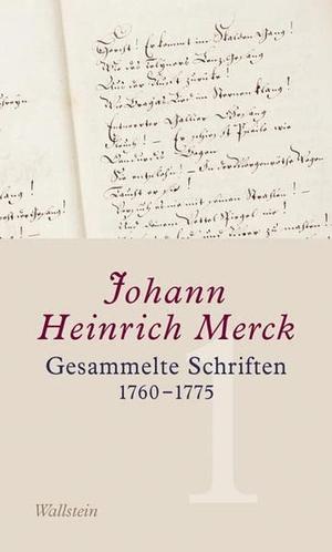Johann Heinrich Merck / Ulrike Leuschner / Amélie