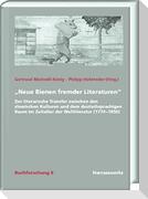 """""""Neue Bienen fremder Literaturen"""""""