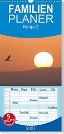 K E N I A - Familienplaner hoch (Wandkalender 2021 , 21 cm x 45 cm, hoch)