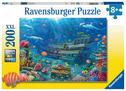 Ravensburger Kinderpuzzle 12944 - Versunkenes Schiff 200 Teile XXL - Puzzle für Kinder ab 8 Jahren