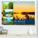 Die Wertach - vom Ursprung bis zur Mündung (Premium, hochwertiger DIN A2 Wandkalender 2022, Kunstdruck in Hochglanz)