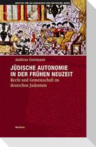 Jüdische Autonomie in der frühen Neuzeit