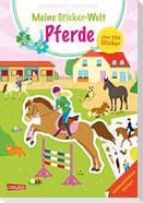 Meine Sticker-Welt: Pferde: über 350 Sticker