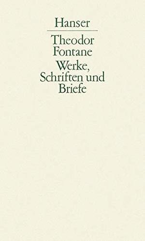 Theodor Fontane / Walter Keitel / Helmuth Nürnber