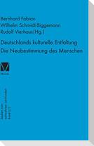 Deutschlands kulturelle Entfaltung 1763-1789