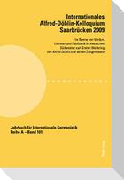 Internationales Alfred-Döblin-Kolloquium Saarbrücken 2009