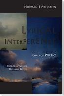 Lyrical Interference: Essays on Poetics