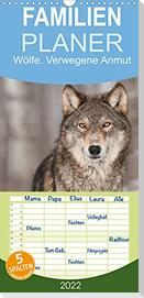 Wölfe. Verwegene Anmut (Wandkalender 2022 , 21 cm x 45 cm, hoch)