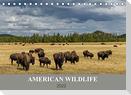 American Wildlife (Tischkalender 2022 DIN A5 quer)