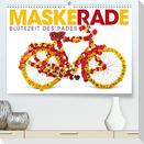 MaskeRADe - Blütezeit des Rades (Premium, hochwertiger DIN A2 Wandkalender 2022, Kunstdruck in Hochglanz)