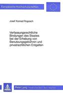 Verfassungsrechtliche Bindungen des Staates bei der Erhebung von Benutzungsgebühren und privatrechtlichen Entgelten