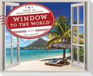 2019 Window to the World(tm) Wall Poster Calendar: Create the Perfect View Anywhere