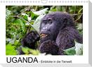 UGANDA - Einblicke in die Tierwelt (Wandkalender 2022 DIN A4 quer)