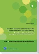 Sport im Kontext von internationaler Zusammenarbeit und Entwicklung