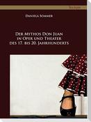 Der Mythos Don Juan in Oper und Theater des 17. bis 20. Jahrhunderts