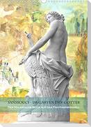 Sanssouci - Im Garten der Götter. Der andere Blick auf das Fontänenrondell (Wandkalender 2022 DIN A3 hoch)