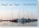 Schiff und Segel - HIDDENSEE (Wandkalender 2021 DIN A2 quer)