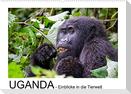 UGANDA - Einblicke in die Tierwelt (Wandkalender 2022 DIN A2 quer)