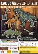 Laubsägevorlage Saurier in der Kreidezeit