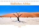 Südliches Afrika - Vom Kap bis zu den Victoria Fällen (Tischkalender 2022 DIN A5 quer)