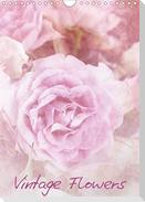 Vintage Flowers (Wandkalender 2021 DIN A4 hoch)
