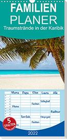 Traumstrände in der Karibik (Wandkalender 2022 , 21 cm x 45 cm, hoch)