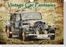 Vintage Car Fantasies (Wall Calendar 2021 DIN A4 Landscape)