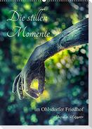 Die stillen Momente im Ohlsdorfer Friedhof (Wandkalender 2022 DIN A2 hoch)