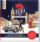 Logika Adventskalenderbuch - London Agency 1960: Mit 24 illustrierten Logikrätsel durch den Advent
