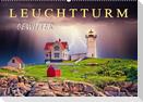 Leuchtturm Gewitter (Wandkalender 2022 DIN A2 quer)